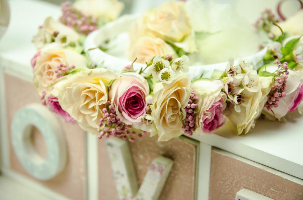 Coronita de flori