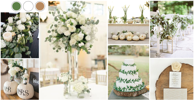 culori ideale pentru nuntile din 2017